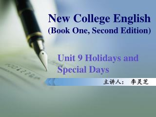 New College English  (Book One, Second Edition)