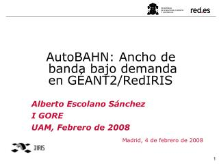 Madrid, 4 de febrero de 2008