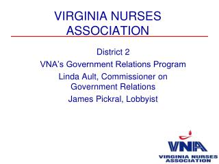 VIRGINIA NURSES ASSOCIATION