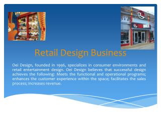 Retail Design Business