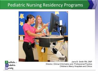 Pediatric Nursing Residency Programs