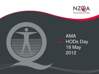 AMA  HODs Day          18 May 2012