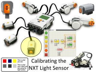 Calibrating the  NXT Light Sensor