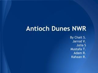Antioch Dunes NWR