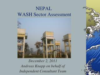 NEPAL  WASH Sector Assessment
