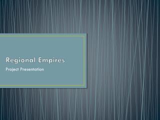 Regional Empires