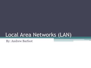 Local Area Networks (LAN)