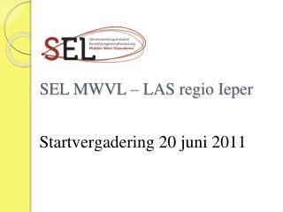 SEL MWVL � LAS regio Ieper
