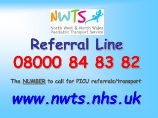 Referral Line 08000 84 83 82