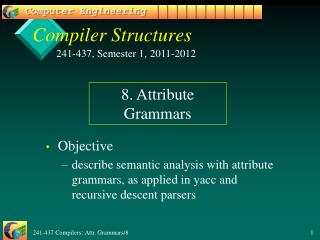 Compiler Structures