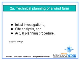 ADVISING    DEVELOPING    OPERATING       hb@generalwind