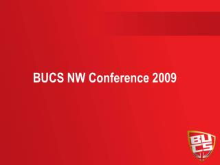 BUCS NW Conference 2009
