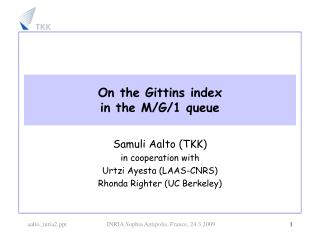 On the Gittins index in the M/G/1 queue