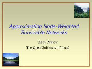 Approximating Node-Weighted  Survivable Networks