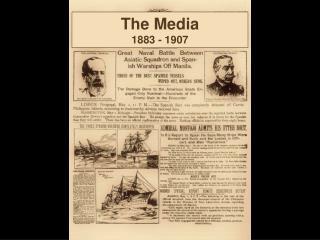 The Media 1883 - 1907