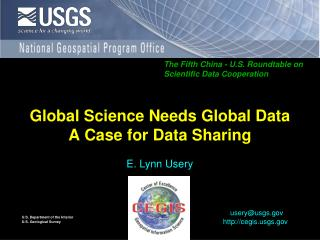 Global Science Needs Global Data A Case for Data Sharing