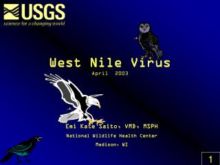 West Nile Virus April  2003