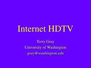 Internet HDTV