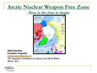 Arctic Nuclear Weapon Free Zone   Now is the time to begin