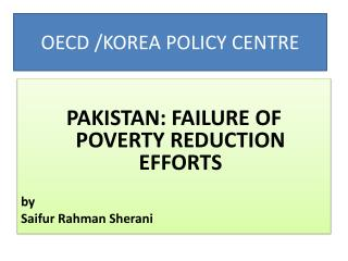 OECD  /KOREA POLICY CENTRE