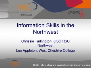 Information Skills in the Northwest