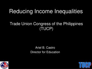 Reducing Income Inequalities