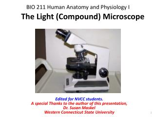BIO 211 Human Anatomy and Physiology I