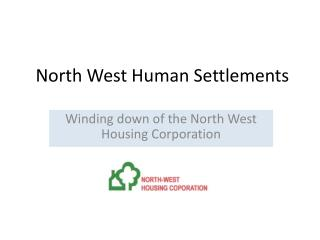 North West Human Settlements