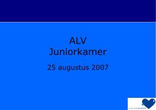 ALV Juniorkamer