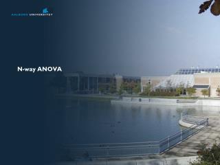 N-way ANOVA