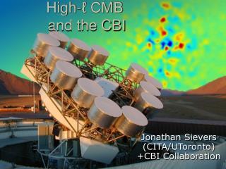 High- ℓ CMB  and the CBI