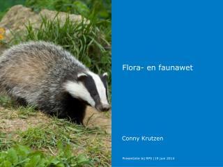 Flora- en faunawet
