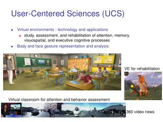 User-Centered Sciences (UCS)