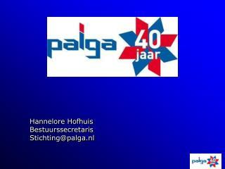 Hannelore Hofhuis Bestuurssecretaris Stichting@palga.nl