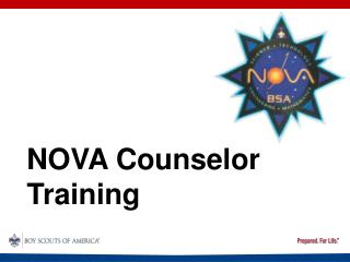NOVA Counselor Training