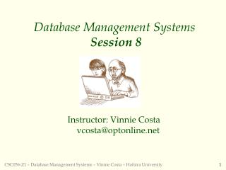 Database Management Systems Session 8