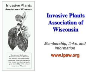 Invasive Plants Association of Wisconsin