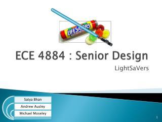 ECE 4884 : Senior Design