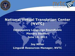 National Virtual Translation Center (NVTC )