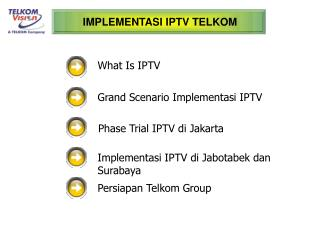 IMPLEMENTASI IPTV TELKOM