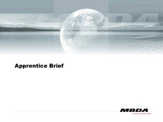 Apprentice Brief