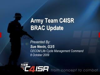 Army Team C4ISR  BRAC Update