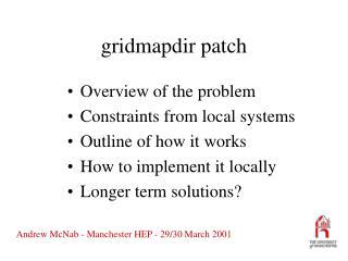 gridmapdir patch