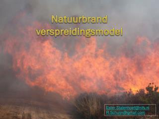 Natuurbrand verspreidingsmodel
