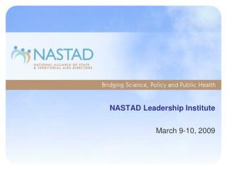 NASTAD Leadership Institute