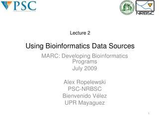 Essential Computing for Bioinformatics