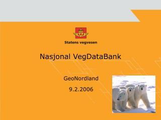 Nasjonal VegDataBank