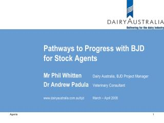 Pathways to Progress with BJD for Stock Agents