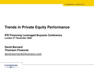 European Private Equity Fund Raising