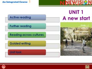 UNIT 1  A new start